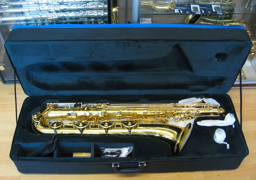 RRB Brass Bariton Saxophon Modell 146-5