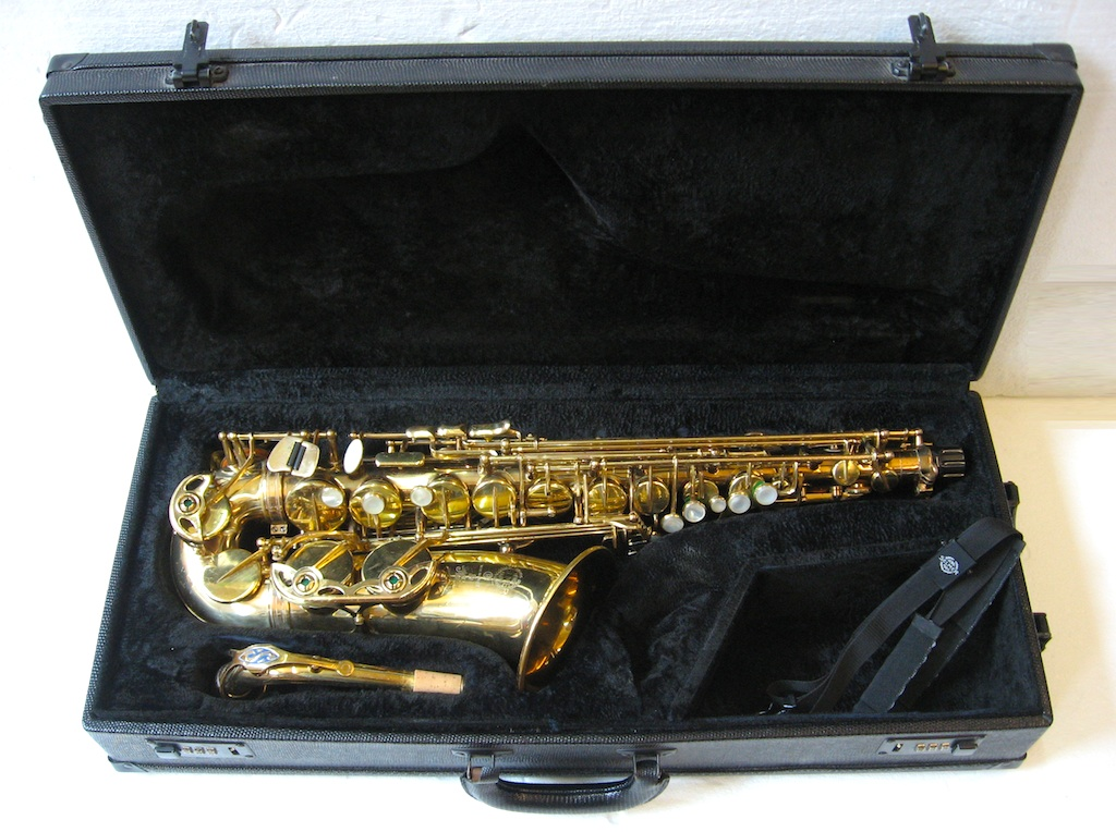 Selmer Alt Saxophon Super Action 80 Bj. 1983