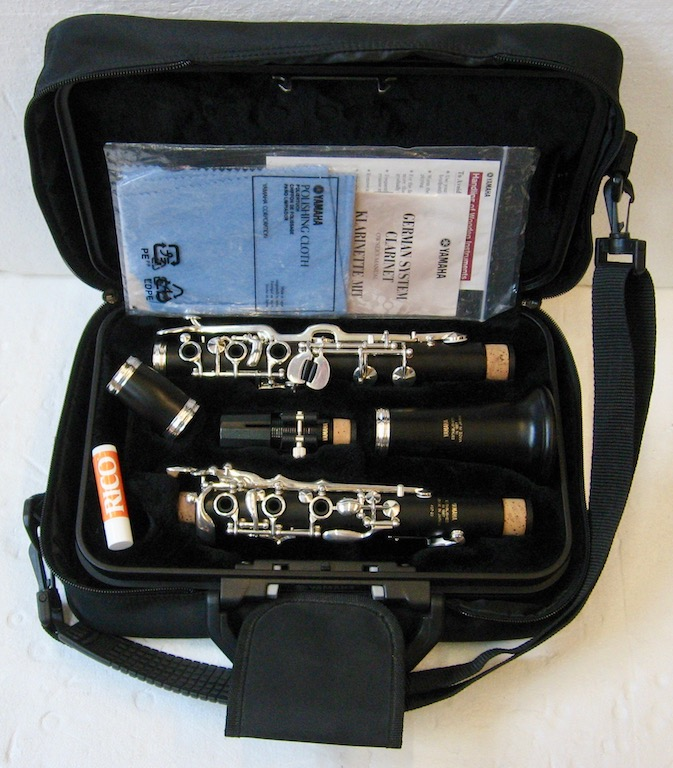 Yamaha B-Clarinete Model YCL-457-20