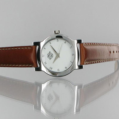 Henri Selmer Paris Wristwatch with leather strap