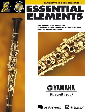 Essential Elements Klarinette in B Yamaha Bläserklasse