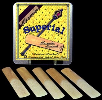 Alexander Superial Reeds for Bariton Saxophone