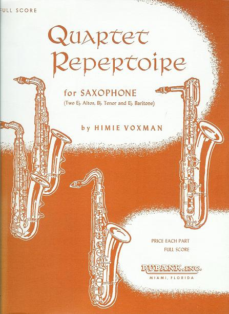 Quartet Repertoire for Saxophone