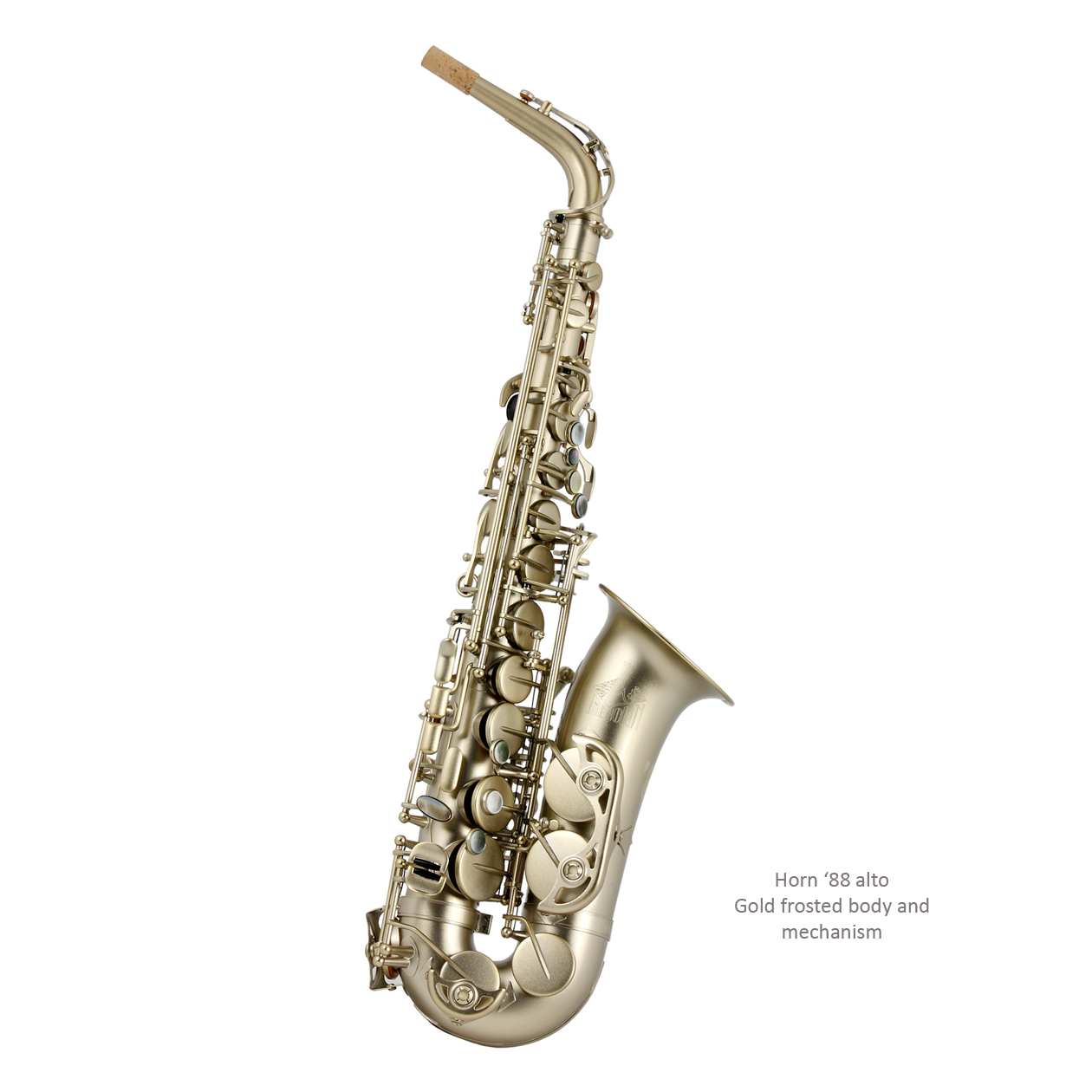 Trevor J. James Alt Saxophon The Horn '88 Frosted gold