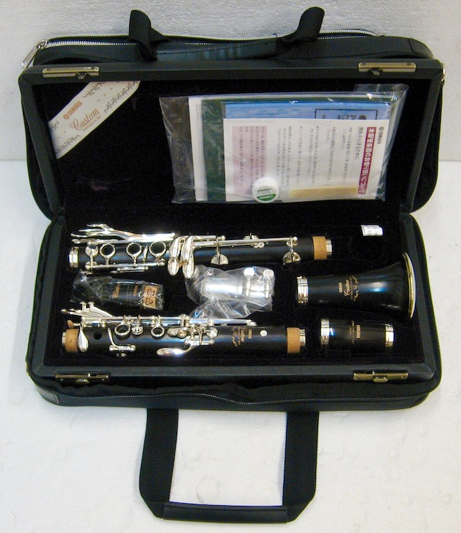 Yamaha B-Clarinet Model YCL-SEV-E