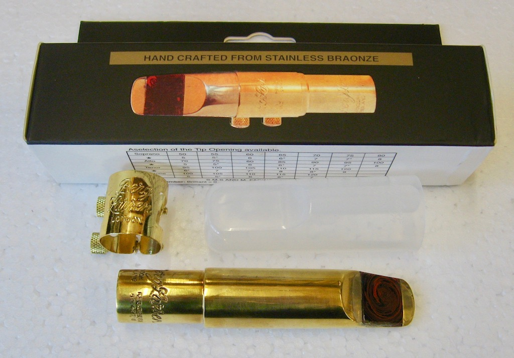Mouthpiece Berg Larsen for Tenor Saxophon Bronze Bullet