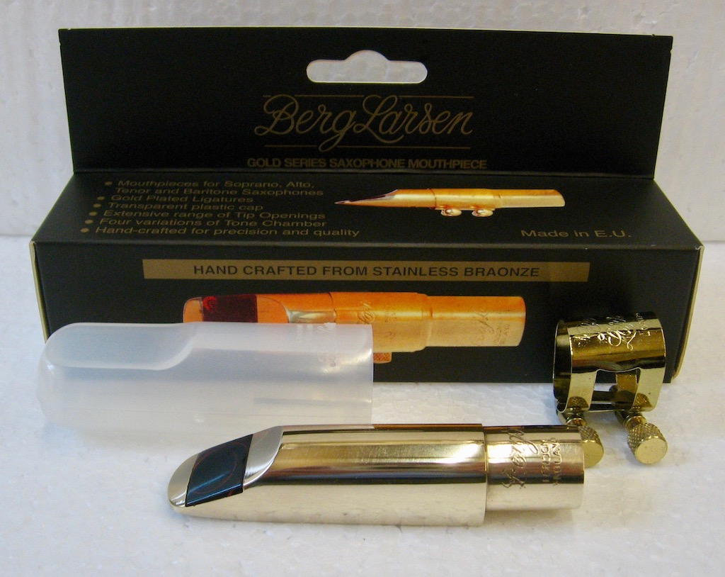 Mouthpiece Berg Larsen for Alto Saxophon Bronze 100/2 SMS