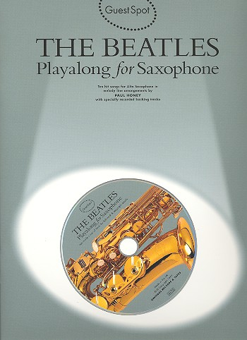 THE BEATLES PLAYALONG FOR ALTO SAXOPHONE (+CD)