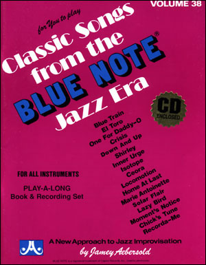Volume 38 Classic Songs From The Blue Note Jazz Era