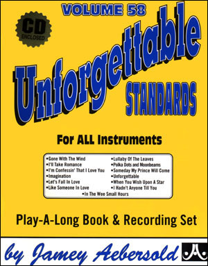 Volume 58 Unforgettable Standards